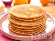 Веган американски палачинки с бадемово мляко и кокосово масло
